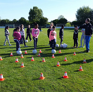 2017 Voetbal Clinic