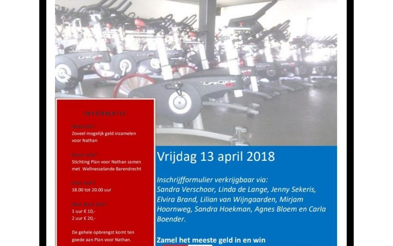 2018 Spinning Voor Nathan
