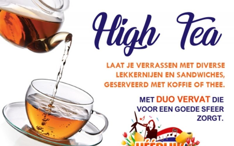 2017 Dag Van De Mantelzorger High Tea