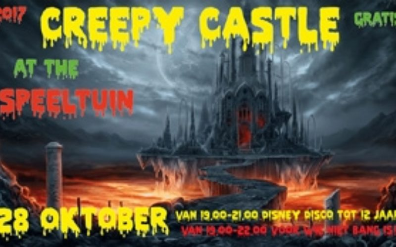 2017  Halloween  Creepy  Castle 300